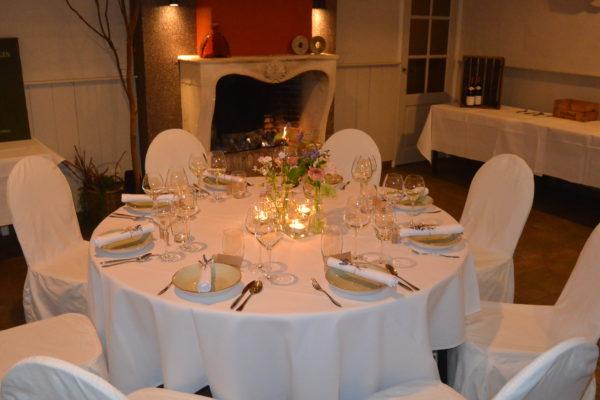 Diner huwelijk Graanzaal open haard